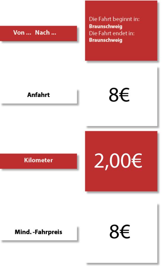 Preise-Minicar-braunschweig preise großraum