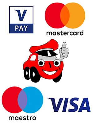 Minicar Braunschweig Kreditkarten